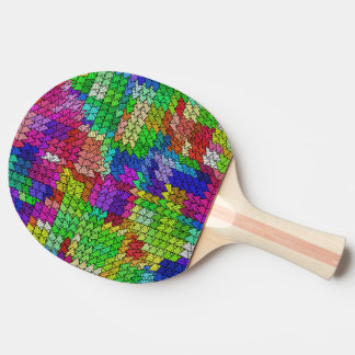 Sweeping pattern 01 ping pong paddle