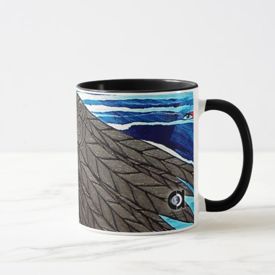 Sweeping Wings by Gregory Gallo Mug