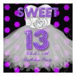Sweet 13th Birthday Party Girls 13 Teen Purple