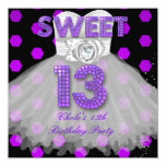 Sweet 13th Birthday Party Girls 13 Teen Purple