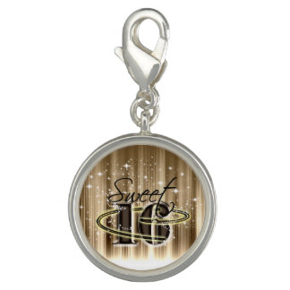 Sweet 16 All Stars Gold Charms