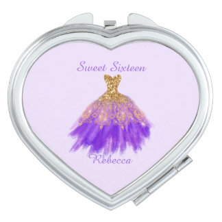 Sweet 16  Birthday Compact Mirror