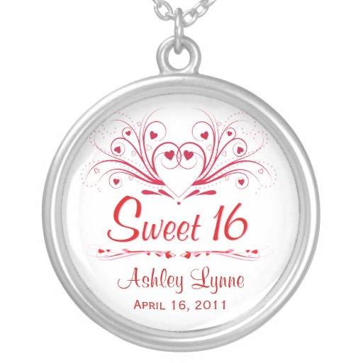Sweet 16 Birthday Gift - Sweeheart Necklace