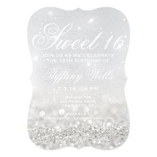 Sweet 16 Birthday Party Invite | Glitter Night