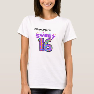 Sweet 16  (bright) - create your own T-Shirt