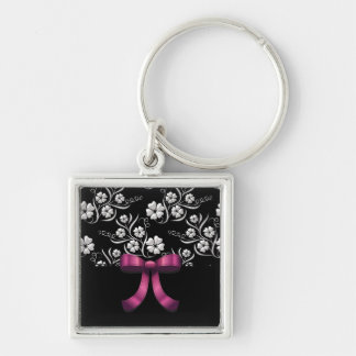Sweet 16 Custom Elegant Birthday Keychain