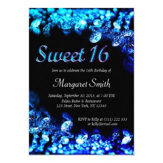 Sweet 16 Diamonds Invitation