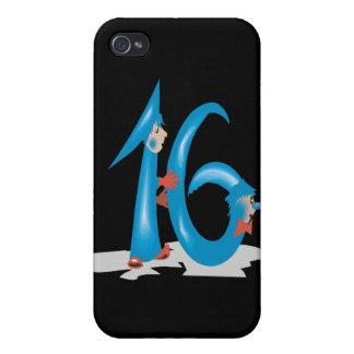 Sweet 16 iPhone 4/4S case