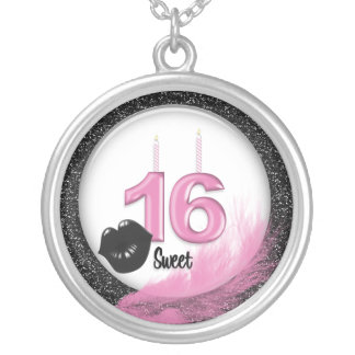 Sweet 16 Keepsake Necklace