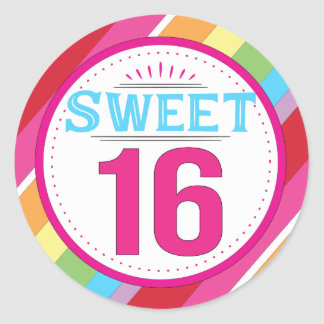 Sweet 16 Labels