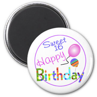 Sweet 16 magnet