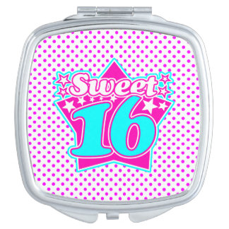 Sweet 16 mirror for makeup