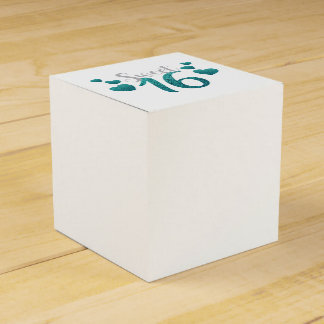 Sweet 16 Party Favor Boxes