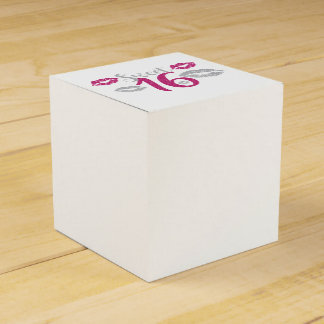 Sweet 16 Party Wedding Favor Boxes