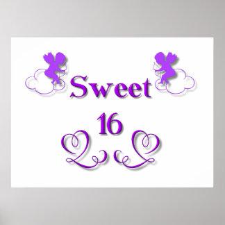 Sweet 16 poster