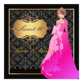Sweet 16/ Quinceañera/Quince años Card
