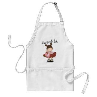 ♥ sweet 16 (sixteen) ♥ girly giggles standard apron