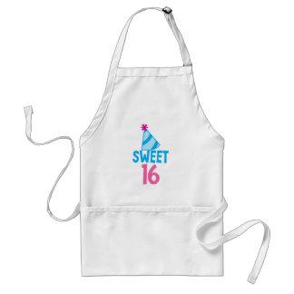 Sweet 16 Sixteen Standard Apron