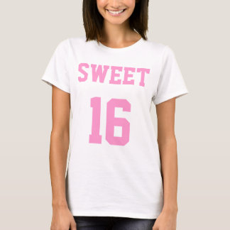 Sweet 16 Sixteenth Birthday T-Shirt