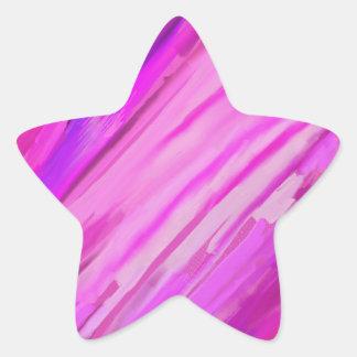 Sweet 16 star sticker