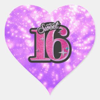 Sweet 16 Stickers