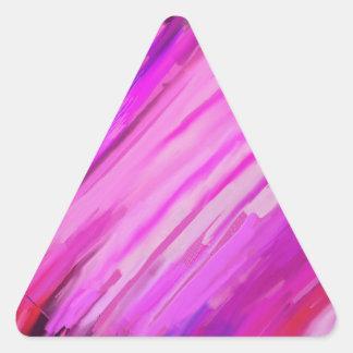 Sweet 16 triangle sticker