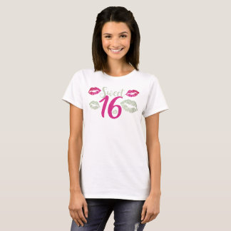 Sweet 16 V.2 Typography T-Shirt
