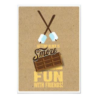 Sweet 16th Birthday Bonfire Invitations