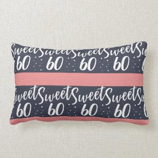sweet 60 lumbar pillow