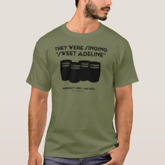 """Sweet Adeline"" Unisex Tee (Fatigue Green)"