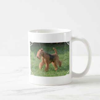 Sweet Airdale Terrier Coffee Mug