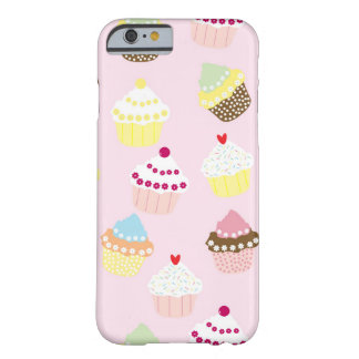 Sweet and Colorful Cupcake Pattern Barely There iPhone 6 Case