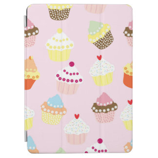 Sweet and Colorful Cupcake Pattern iPad Air Cover