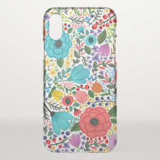 Sweet and Colorful  Floral Ditsy | iPhone X Case