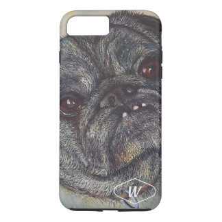 SWEET AND CUTE PUG iPhone 8 PLUS/7 PLUS CASE