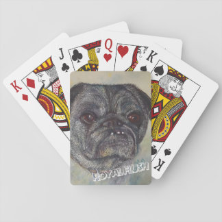 SWEET AND CUTE PUG PLAYING CARDS