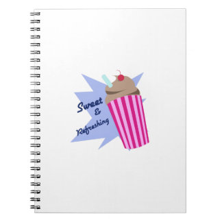 Sweet And Refreshing Note Book