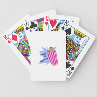 Sweet And Refreshing Bicycle Playing Cards