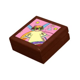 Sweet Angel Ukrainian Folk Art Gift Box