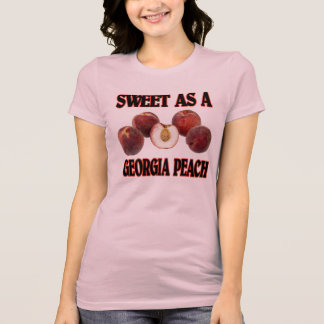 Sweet As A Georgia Peach (women's) T-Shirt