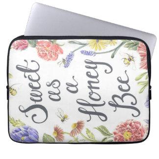 Sweet as a Honey Bee Laptop Case