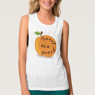 Sweet As A Peach Cute Top