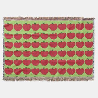 Sweet As Apples Throw Blanket