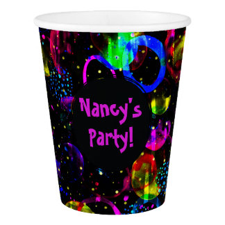 Sweet as Candy Black colorful custom Paper Cup