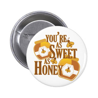 Sweet As Honey 2 Inch Round Button