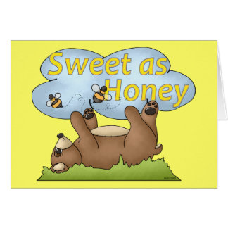 Sweet as Honey Bear Card