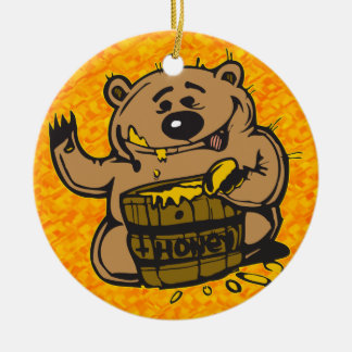 Sweet As Honey Ceramic Ornament