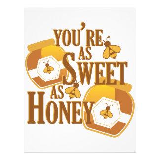 Sweet As Honey Letterhead