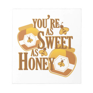 Sweet As Honey Notepad