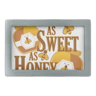 Sweet As Honey Rectangular Belt Buckles